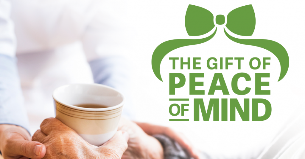 The Gift of Peace of Mind